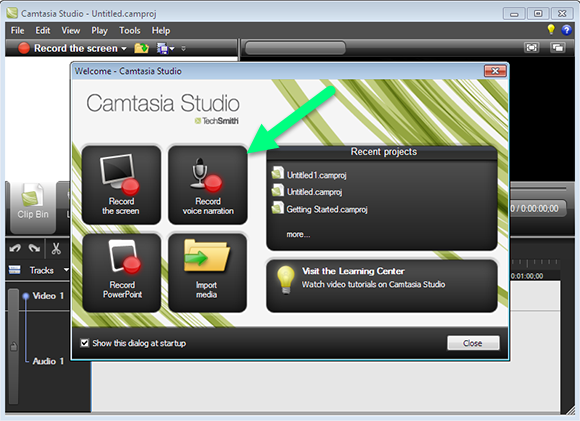 how to make a timer on camtasia