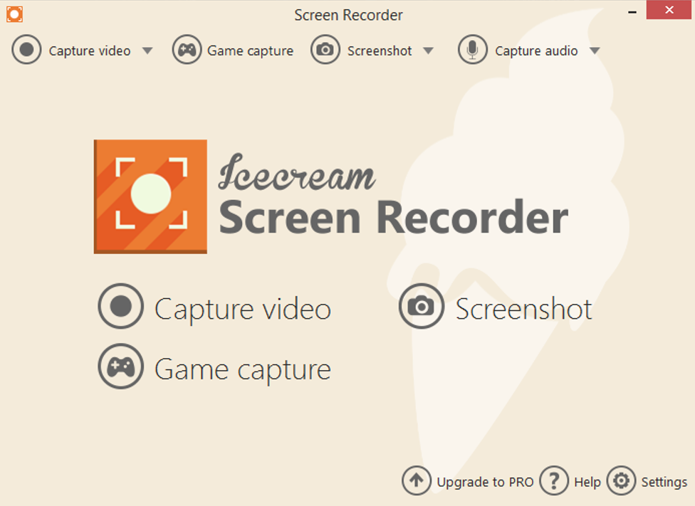 Ice-cream Screen Recorder